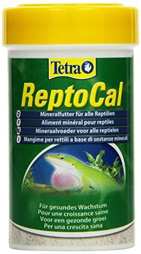 Tetra ReptoCal (ausgewogenes Mineralfutter(in Pulverform für alle Reptilien), 100 ml Dose