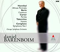 Conducts Hannibal/Berio/Carter