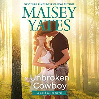Unbroken Cowboy audiobook cover art