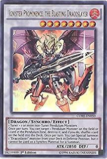 Yu-Gi-Oh! - Ignister Prominence, the Blasting Dracoslayer (CORE-EN050) - Clash of Rebellions - Unlimited Edition - Ultra Rare