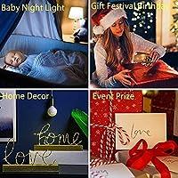 GMYXSW ベッドルームの装飾用ライト誕生日プレゼントマンガの置物LEDナイトライトJotaro Kujo 7色-クラックベース_4