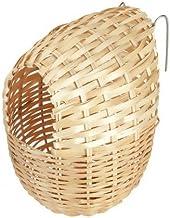 Kerbl - Nido de bambú para pájaros exóticos, 12 x 11 cm