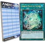 Andycards Yu-Gi-Oh! - Libro di MAGIA dei Segreti - Ultra Rara BLLR-IT075 in Italiano + Segnapunti