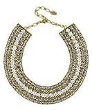 Swarovski Crystal Cleopatra Styled Collar Necklace in Antiqu