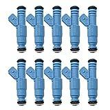 XIWEIG 10pcs / Lot Iniettore/Adatta for - Volvo / C70 / S60 / S70 / S80 / V70 / S70 / S80 / V70 0280155830 Dispositivo di Iniezione del Carburante, Iniettore di Carburante Durevole