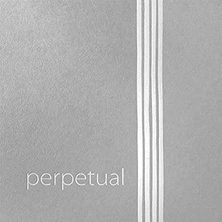 Pirastro Perpetual Violin String - A STEEL/CHROME, Ball End, Medium (Special)