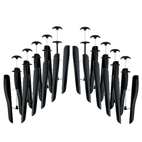 telmo TelMo 5 Paar Stiefel-Schaftformer, schwarz, für Schaftlängen bis zu 37cm