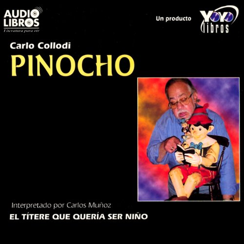 Pinocho [Pinnochio] audiobook cover art