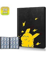 Cpano Card Holder Book Estuche para Pokemon Trading Carsd, Tiene Capacidad para hasta 396 Tarjetas. Carpeta de álbum de Titular Compatible con 22 páginas Premium de 18 Bolsillos