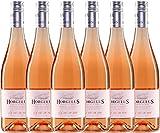 6er Paket - Horgelus Rosé IGP 2018 - Domaine Horgelus | Sommerwein | französischer Rotwein aus der Gascogne | 6 x 0,75 Liter