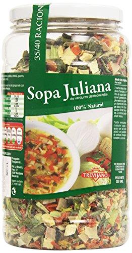 Trevijano - Sopa Juliana de verduras deshidratas - 100% natural - 350 g