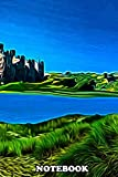 Notebook: Conway Castle North Wales In A Digital Art P , Journal for Writing, College Ruled Size 6