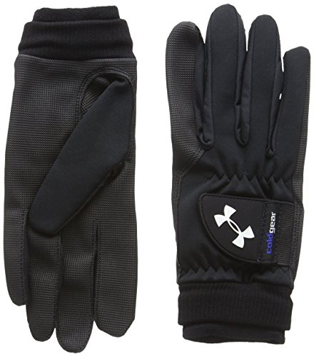 Under Armour Coldgear Gants de Golf Homme, Black/Steel, FR :...