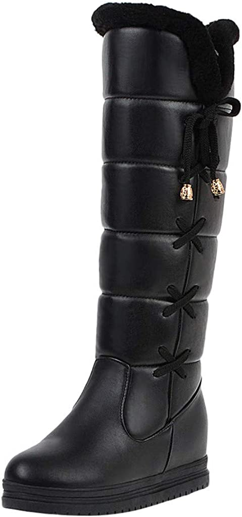 Vedolay Womens Boots Winter Clearance Leat Women Fashionable Albuquerque Mall Leisure