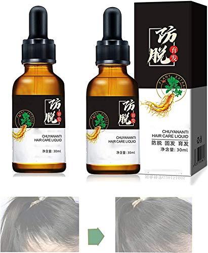 10x-regro Strong Hair Serum Tratamiento Para El Cabello De Crecimiento Rápido 30 Ml Caliente, Suero Para El Crecimiento Del Cabello Para La Caída Del Cabello Para Mujeres (2pcs)