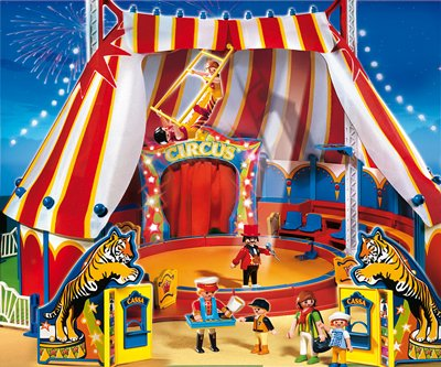 PLAYMOBIL® 4230 - Zirkus - Großes Zirkuszelt mit LED-Portal