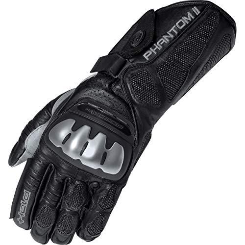 Motorcycle Held Gloves Phantom II Black Grey 09