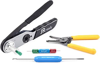 JRready JST2109S crimping tool crimp 12#, 16#, 20# solid contacts of DT, DTM, DTP, DTV, DRB, DRCP and STRIKE series connectors 12-22AWG