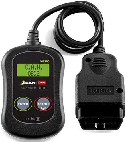 OBD2 Scanner Check Engine Code Reader MS300 Car Diagnostic Tool for Most SUVs Trucks Vans and product image