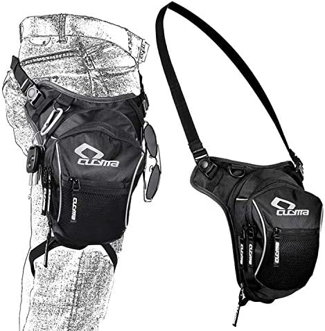 Hip Belt Bum Fanny Pack Waist Thigh Leg Drop Bag Tactical Military Riding Motorcycle Outdoor product image