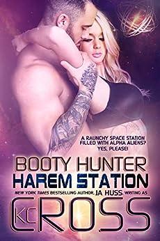 Booty Hunter: Sci-Fi Alien Romance (Harem Station Book 1) by [JA Huss]