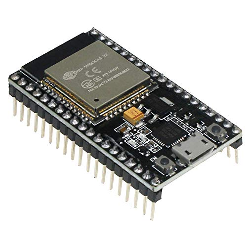 KeeYees Entwicklungsboard Modul 2.4 GHz WLAN WiFi + Bluetooth 2-In-1 Development Board Mikrocontroller für ESP32 für Arduino