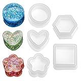 Molde para caja de almacenamiento, 5 piezas de joyería de resina de epoxi,...