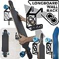 MEOLLO Longboard Wandhalterung (100% Stahl)