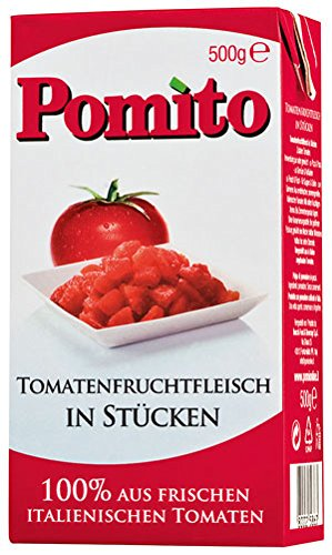 Pomito Tomatenfruchtfleisch in Stücken - 500g - 4x