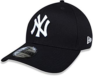 BONE 3930 NEW YORK YANKEES MLB ABA CURVA PRETO NEW ERA