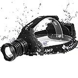 HS-HWH219 LED Headlamp Phare Le Plus Puissant 32W 8000Lm Étanche Lampe Frontale 5 -Modalités De Zoom Banque 7800Mah18650 Batterie Pêche De Nuit Éclairage d'urgence