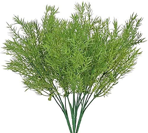 FLOWM 4 piante artificiali, piante artificiali artificiali, per decorare la casa, come regalo di fiori, accessori fai da te