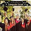 卒業用装飾バナー2021-2021年のクラス2021&おめでとうございます&ポーチ/ポーチ/エントランス装飾 - 19.69 118.11インチおめでとうございます迷路飾りパーティー用品