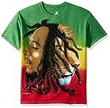 Bob Marley Men's Profiles Tie Dye T-Shirt