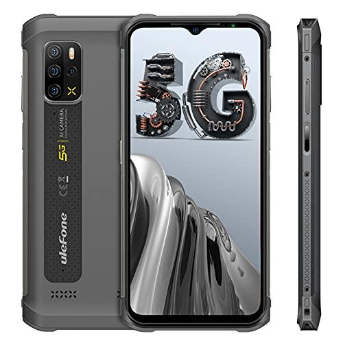 Ulefone Armor 12 Rugged Smartphone Android 11, 128GB+8GB, Octa-Core, 6,1 Pollici Telefoni Impermeabili, 5180mAh Batteria, 5G Dual SIM Telefono Robusto, NFC Face ID OTG GPS