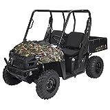 Classic Accessories QuadGear Black UTV Bench Seat Cover (Polaris Ranger 400, 570, 800)