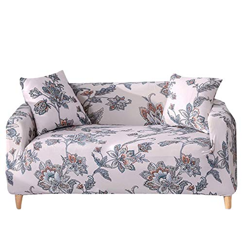 Sofa Couch Abdeckungen, All-Inclusive-sofabezug 1 2 3 4-sitzer-schonbezug Sofa Waschbar, Milben- Und Faltenabweisend Abnehmbar (Color : D, Size : 1-Seater(90-140cm))