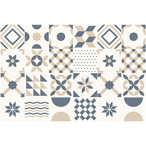 Ambiance-Live Adhesivos de imitación de Mosaico hidráulico para Pegar en la...