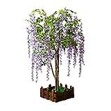 Falso simulación de Wisteria árbol de la decoración del árbol árbol de los...