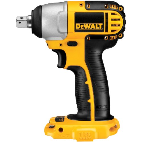 DEWALT Bare-Tool DC820B 1/2-Inch 18-Volt Cordless Impact Wrench