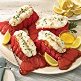 Four 6-7 oz Maine Lobster Tails