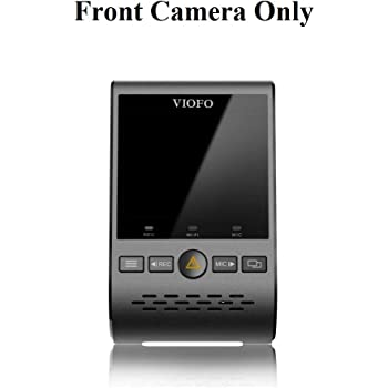 Viofo A129 1080p Dash Camera with Sony Starvis IMX291 Image Sensor and Dual Band WiFi - Front Camera Only