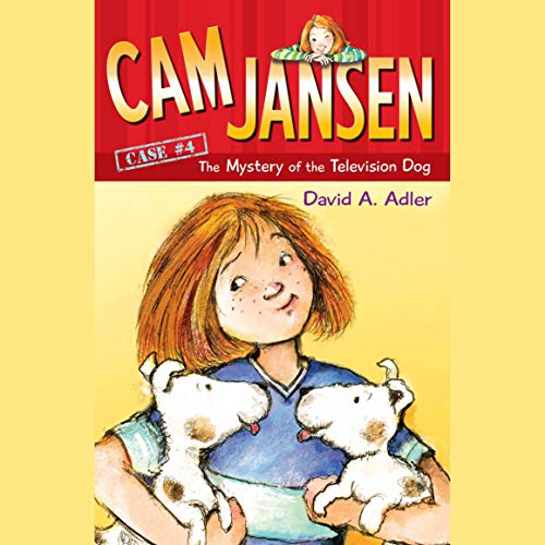 Cam Jansen: The Mystery of the Television Dog audiobook cover art
