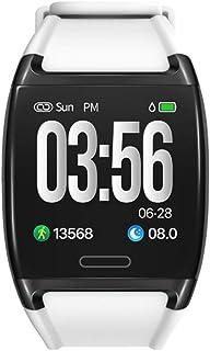 Reloj Inteligente Mujer y Hombre Smartwatch Impermeable IP67 Pulsera Actividad Deportivo con Monitor de Sueño Pulsómetro Pantalla Táctil Completa Reloj Fitness para Android y iOS,Blanco