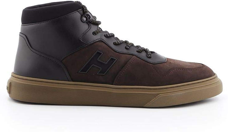 Hogan Herren HXM3650AM50JFJ1117 Braun Leder Hi Top Top Top Sneakers B07HGHBHTJ 8ddf0c