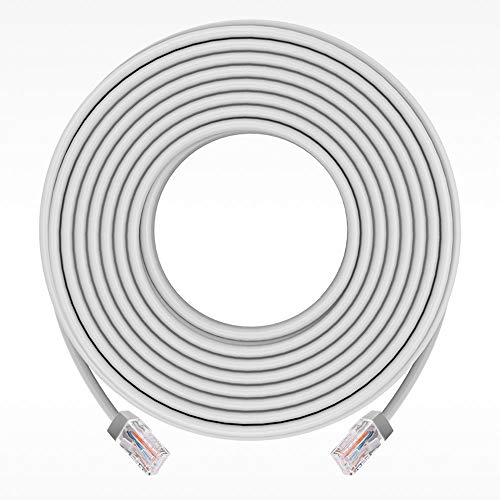 ANNKE 30m - Netzwerkkabel, Ethernet Kamera Kabel, LAN & Patch Kabel,Arbeiten Sie für PoE IP Kamera und Überwachungskamera Set für die Energie und Datenübertragung,Router etc