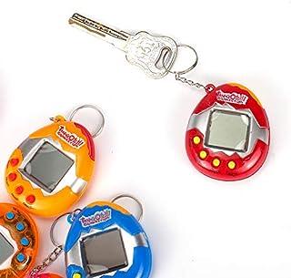 Naisde 2Pcs Tamagotchi Electronic Pets Machine Digital Pet Game, Virtual Pet Key Ring, Nostalgic 90s Toys Mini Game Consol...