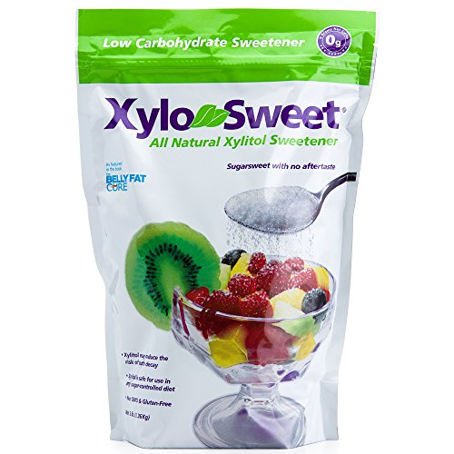 Xlear XyloSweet Non-GMO Xylitol Sweetener - Natural Sweetener Sugar Substitute, Granules (1 lb Bag)