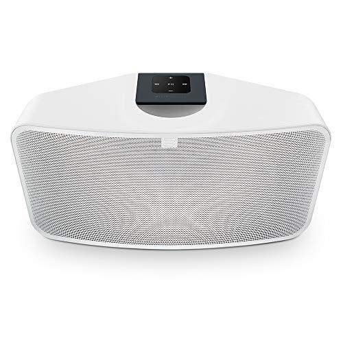 Un'innovativa doppia camera acustica si traduce in una straordinaria performance di sfidamento delle dimensioni Prova bassi profondi e audio a gamma completa senza distorsioni Wi-Fi a doppia banda e supporto per Bluetooth aptX HD garantisce zero sbal...