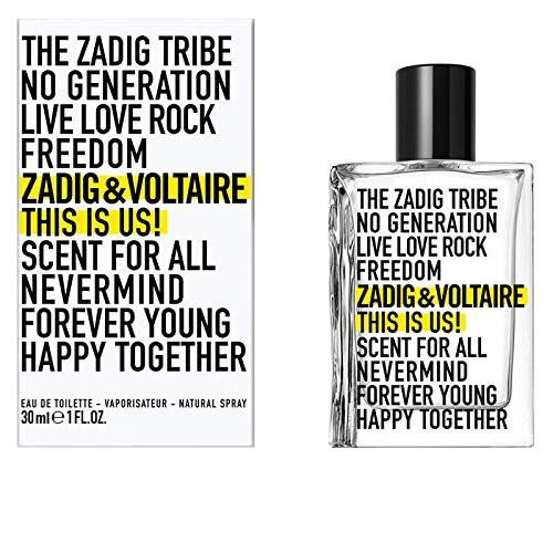 Zadig & Voltaire This Is Us! Edt, 100 Millilitri